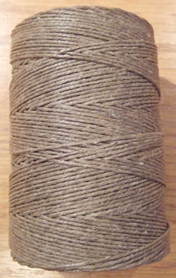 Lacing Cord - Waxed Linen 3-Ply