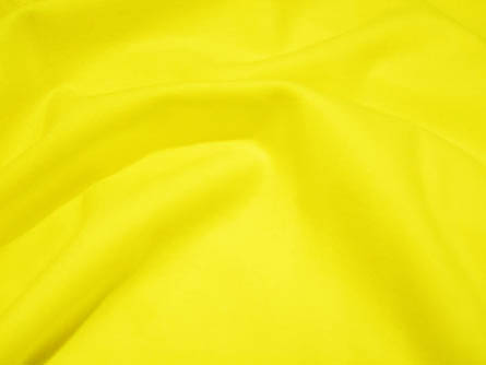 Canola Yellow Wool Fabric