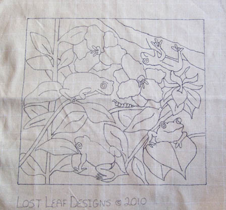 Lost Leaf Designs: Frogs in the Garden