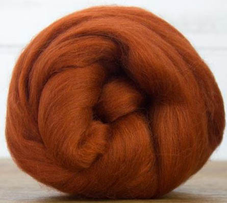 Rust Merino Top