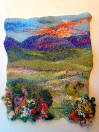 Felted Landscape Class