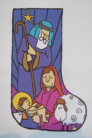 Atkinson: Christmas Stocking - Nativity