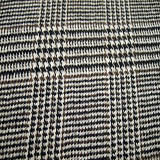 Black-Cream-Olive Wool Fabric