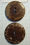 38mm Coconut Buttons