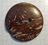 51mm Coconut Button