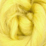 Corriedale Wool - Lemon