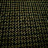 Olive/Black/Brown Houndstooth