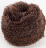 Prairie Felting Batt - DARKEST Gray/Brown #5