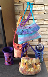 Felted 3D Vessels Class, May 4, 2019