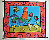 Atkinson: Rooster and Chicks
