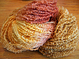NZ Boucle - Paprika/Toffee/Golden Yellow