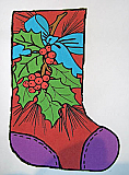 Atkinson: Christmas Stocking - Holly