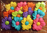 Bright Flower Buttons